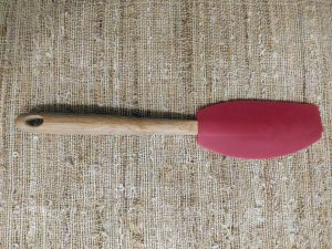 rubber spatula, essential time saving kitchen tool