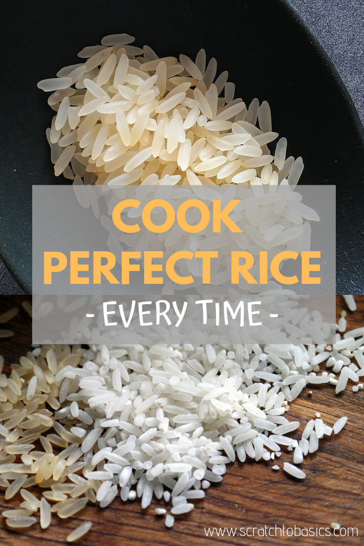 cook perfect rice every time using traditional methods to prepare the rice.