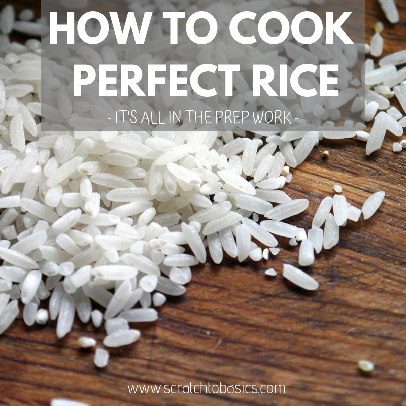 perfect rice, how to cook rice, perfect rice every time, prep rice, rinse rice, soak rice, traditional rice