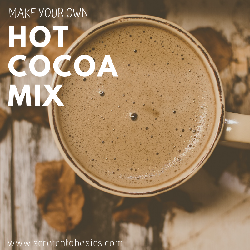 make your own hot cocoa, diy hot chocolate